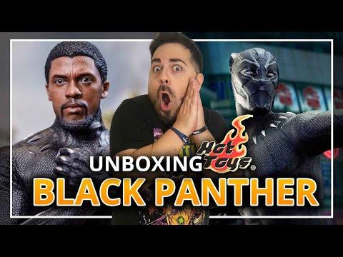 Unboxing HOT TOYS de BLACK PANTHER + SORTEO MUNDIAL