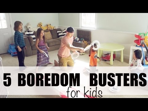 5 FUN Boredom Busters for KIDS! | COLLAB
