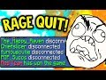 MAKING EVERYONE RAGE QUIT IN MINECRAFT BED WARS!