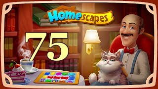 HomeScapes level 75