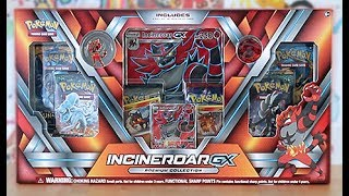 Opening A Incineroar GX Premium Collection Box!!