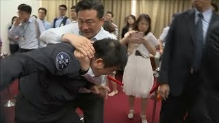 Taiwan Parliament fights continue