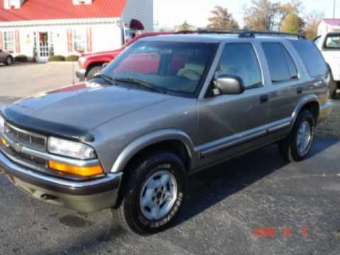 Chevrolet Blazer Ao 2000 Youtube