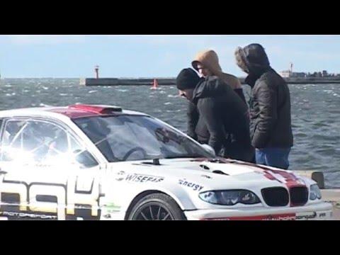 LSEZ – Liepājas ostā uzņem video īsfilmu ar Kristapu Blušu galvenā lomā