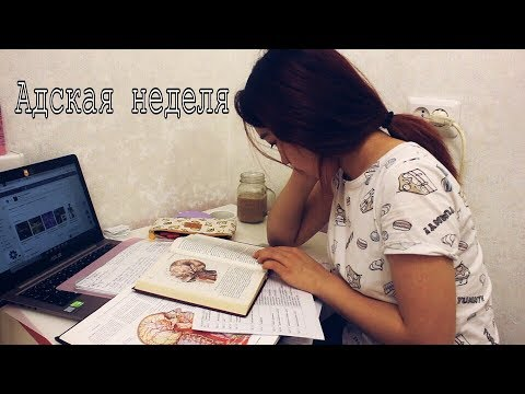StudyVlog: снова ЕГЭ, Адская Неделя или как спать по 3 часа в день и не умереть