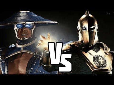Injustice 2 Doctor Fate vs Raiden