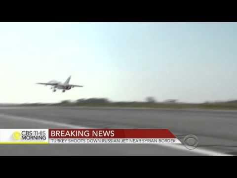 Turkey Shoots Down Russian Jet Near Syria Border