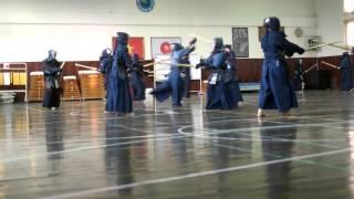 [Kendo] - Keiko at Japanese School - Feb 21 2016