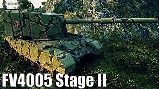 FV4005 Stage II раздает ВАНШОТЫ 🌟 карта: Рудники 🌟 World of Tanks лучший бой на бабахе