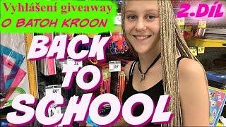 Back to school - 2.část a vyhlášení giveaway o batoh Kroon