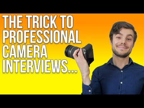 How to Interview Someone On Camera (7 Easy Steps) + Tips On Being Interviewed)