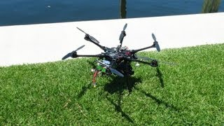 Flying over Bahia Mar Marina, FL in my DJI S800