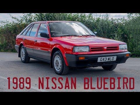 1989 Nissan Bluebird Premium Goes For A Drive