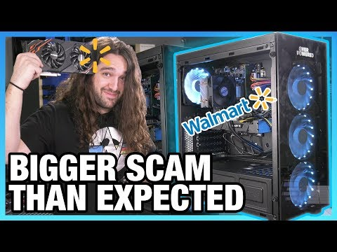 Walmart Gaming PC: How to Do Everything Wrong | Overpowered DTW3
