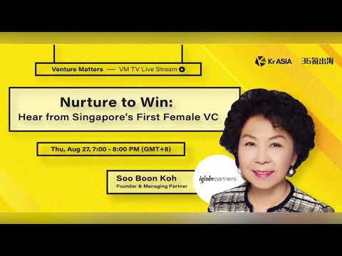 VMTV #6 Singapore's first female VC | iGlobe Founder and Managing Partner, Soo Boon Koh