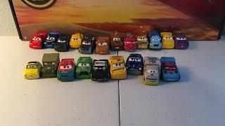 Disney Pixar cars mini racers showcase