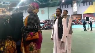 بالفيديو : وزير الشباب والرياضة يفتتح الأولمبياد المصرى النوعى الخامس باسوان