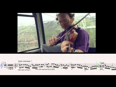 Working on a Building - Casey Driessen - VIOLIN TRANSCRIPTION