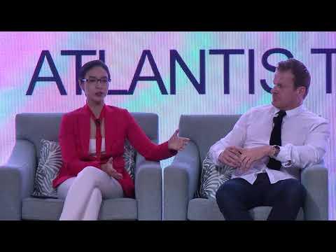 Panel Discussion Dubai International Blockchain Summit 8 Jan 2018 at Atlantis Hotel The palm