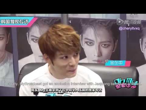 [Eng Sub] 150402 Oh My Korea Interview - Kim Jaejoong 金在中