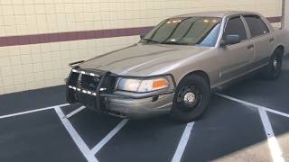 My Crown Vic Is So Illegal Now.... or is it?
