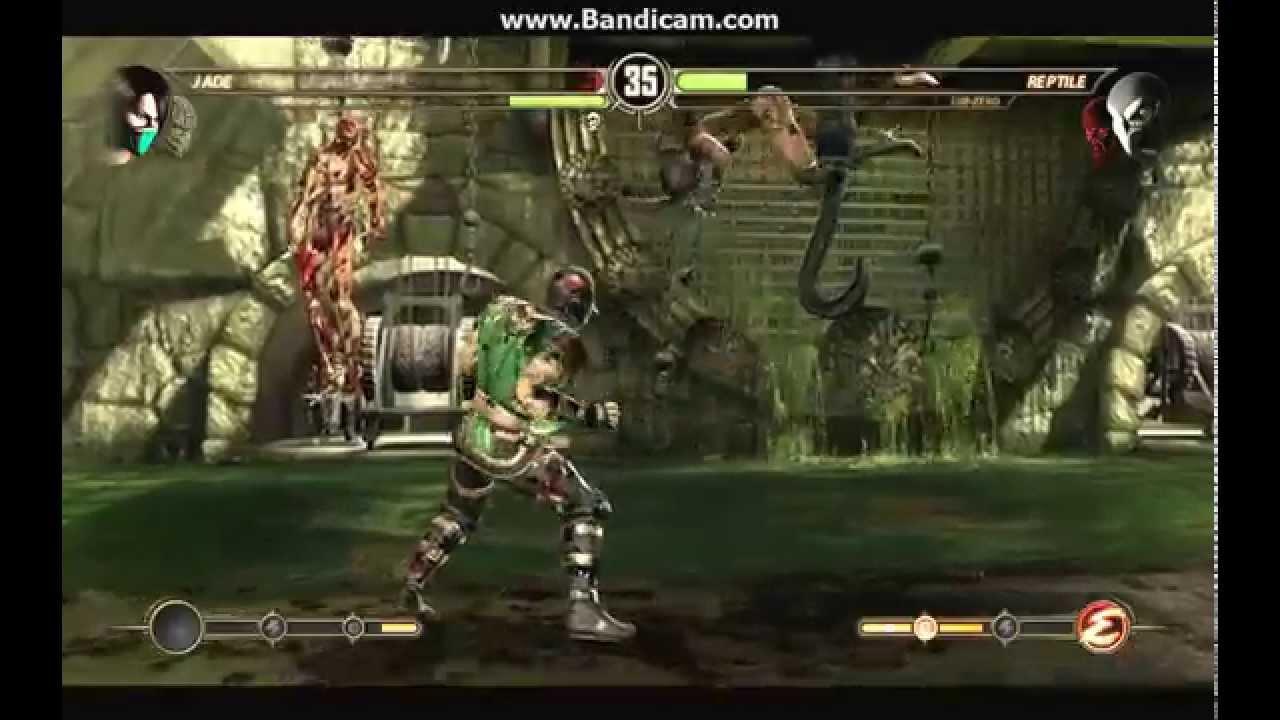 Scorpion and Jade VS Sub-Zero and Reptile(Mortal Kombat 9 ...