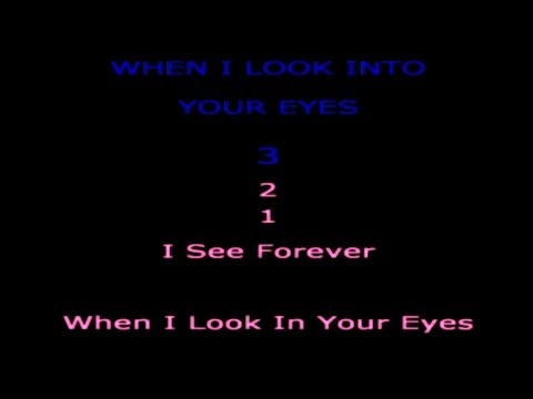 Firehouse - When I Look Into Your Eyes [ Lyrics ]