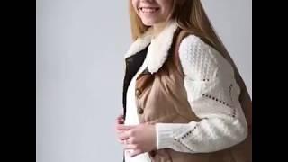 Видео обзор одежды Lurex: свитер кроя оверсайз крупной вязки