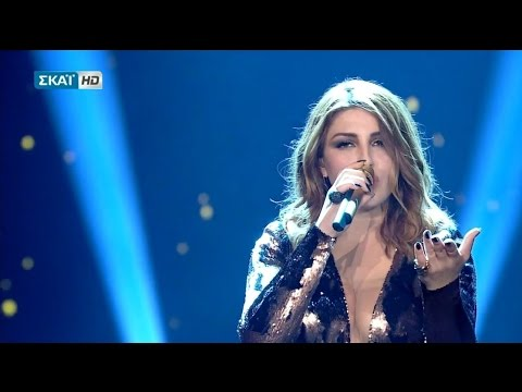 Helena Paparizou - Agkaliase Me (Live @ The Voice of Greece)
