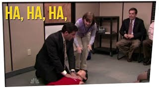 "Woman Saves Squirrel Using CPR from ""The Office"" ft. Boze & DavidSoComedy"