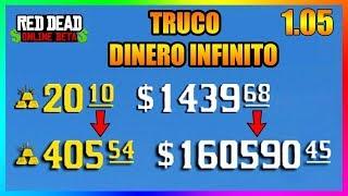 TRUCO de DINERO INFINITO RED DEAD REDEMPTION 2 ONLINE 1.05 | FUNCIONA