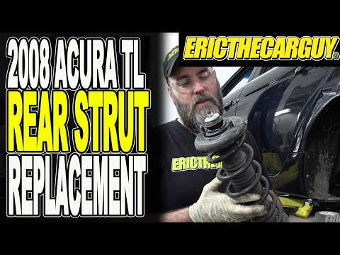 2004-2008 Acura TL Rear Strut Replacement