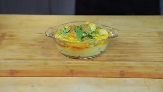 Vegetable gratin with cheese sauce (EN) - BioTechUSA