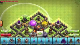 Layout Hibrido Cv7 - Clash Of Clans