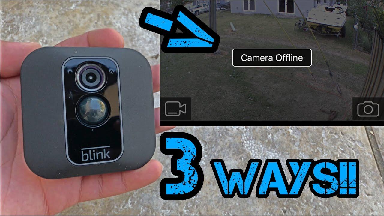 HOW to Fix Blink XT2 Camera Offline!! [2020]