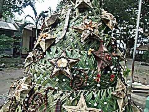 indigenous christmas tree in the philippines