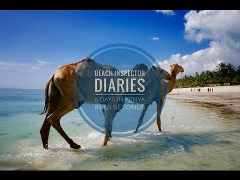 Beach-Inspector Goes Kenya