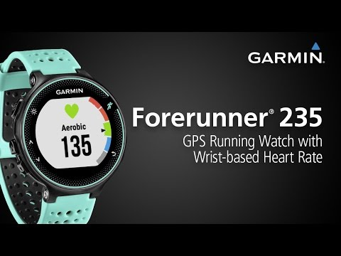 Forerunner 235: Check Out the GPS Running Watch with Wrist-based Heart Rate and Connected Features