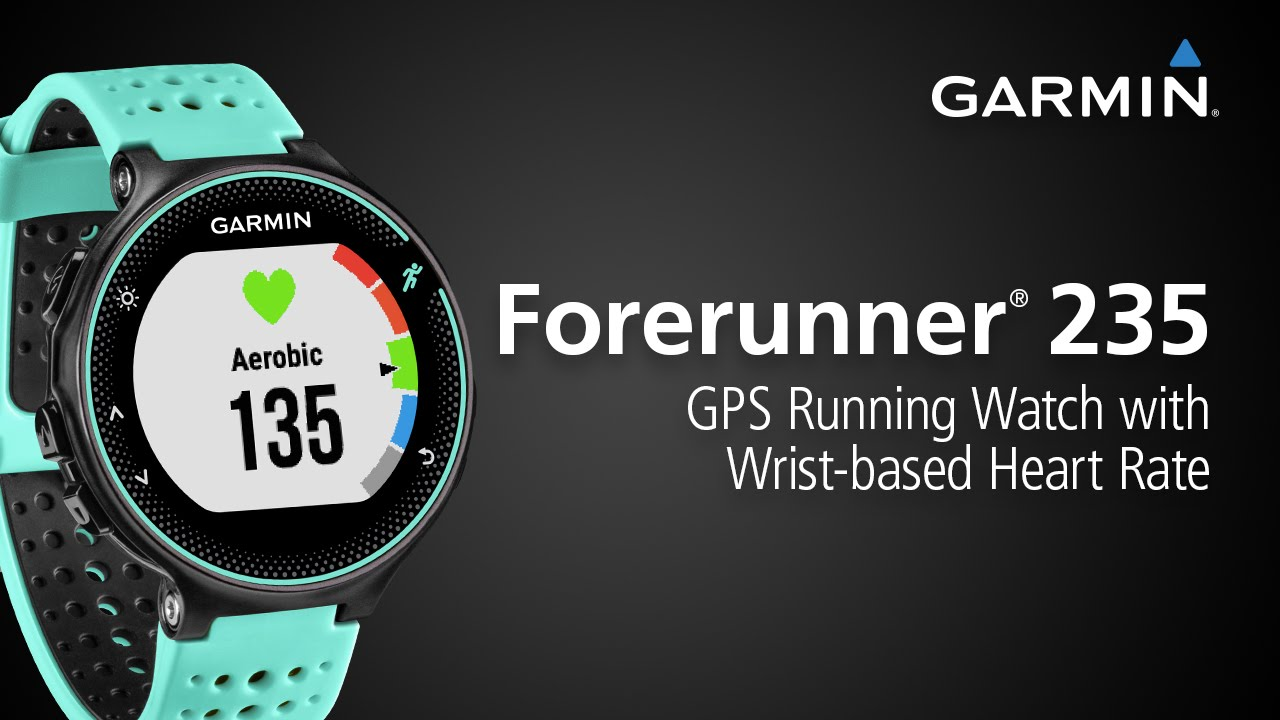 41e199cd7e37 Forerunner 235  Check Out the GPS Running Watch with Wrist-based Heart Rate  and Connected Features - YouTube