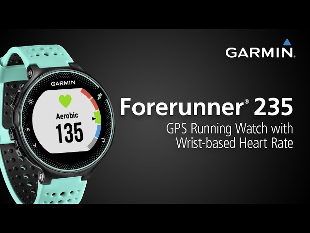 Forerunner 235: GPS Running Watch with Wrist-based Heart Rate and Connected Features