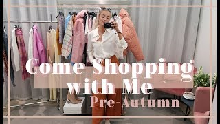PRE-AUTUMN COME SHOPPING WITH ME & London Staycations // Fashion Mumblr