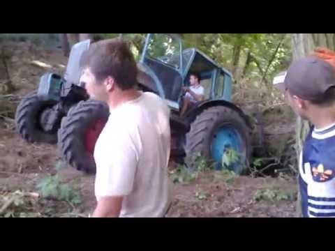 Отечественный мини-трактор СУ11М - YouTube