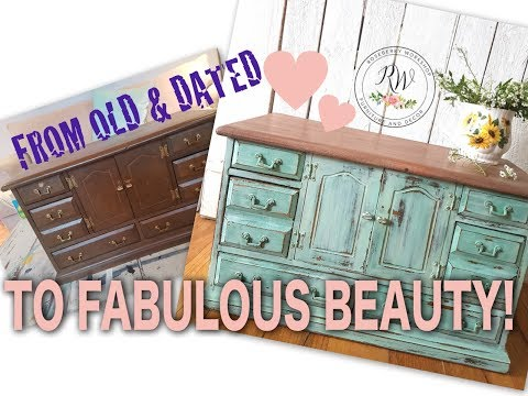 Jewelry Box Milk Paint Makeover