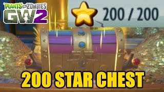 Plants vs Zombies Garden Warfare 2 - OPENING THE 200 STAR CHEST!