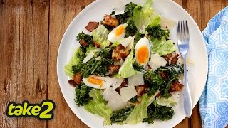 Caesar Salad Recipe With Kale - Woolworths Take 2