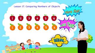 Math For Kids   Lesson 17. Comparing Numbers of Objects   Kindergarten