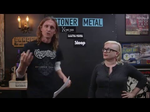 LOCK HORNS   STONER AND SLUDGE METAL band debate with Natalie Zed (live stream archive)