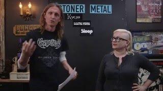 STONER AND SLUDGE METAL Essential bands debate with Natalie Zed   LOCK HORNS (live stream archive)