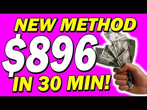 EARN $896.72 In JUST 30 MINS Simply Copy & Paste (Affiliate Marketing For Beginners)