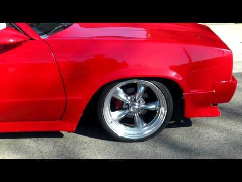 Chevy El Camino Custom Interior